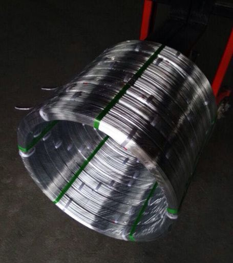 Galvanized Oval Steel Wire Anbao Qinhuangdao Wire