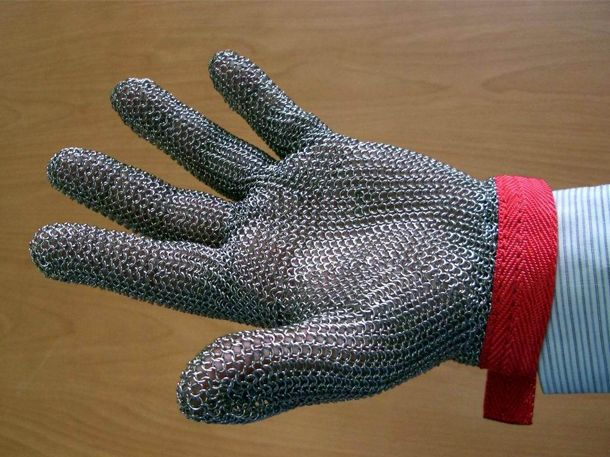 Stainless Steel Wire Mesh Gloves - Anbao(Qinhuangdao) Wire & Mesh Co ...
